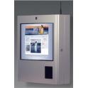 """Informačný kiosk Sparrow Standard na stenu, 19"""" dotykový displej"""