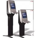 """Informačný kiosk Eagle Shift výškovo nastaviteľný, 17"""" dotykový displej"""