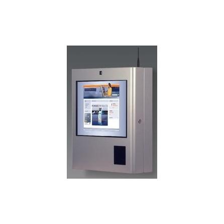 """Informačný kiosk Sparrow Standard Semi-Outdoor na stenu, 19"""" dotykový displej, s klimatiza"""
