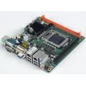 Priemyselná základná doska AIMB-280QG2-00A1E LGA1156, Intel QM57,1xPCIe x16, 1x VGA, 1xDVI