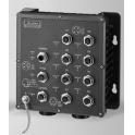Switch EKI-6559TMI 8xM12, 2x GB optika LC, manažovateľný, IP67