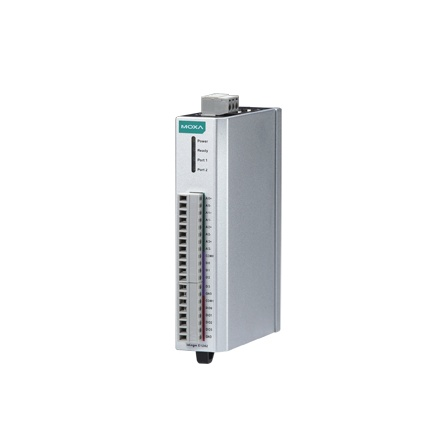 I/O server ioLogik E1242 4xAI 0-10V 4-20mA 16bit, 4xDI, 4xDIO, Modbus/TCP, LAN bypass, aktívny OPC server, 12 až 36 VDC, -10 až 60°C