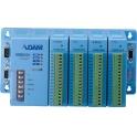 Základný modul ADAM-5000/485-AE RS485 pre 4 zásuvné moduly ADAM-50xx