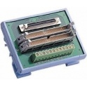 Svorkovnica ADAM-3968/50 68p SCSI-II/2x50p plochý konektor, 12xsvorky
