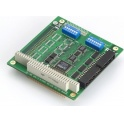 Komunikačná karta CA-104-T PC/104, 4xRS232, 15kV ESD, -40~85°C