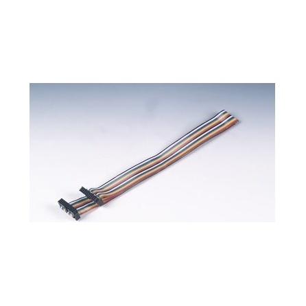 Kábel PCL-10120-2 plochý konektor 20p,2m