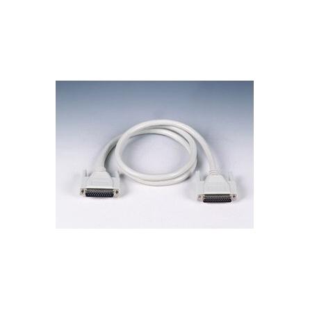 Kábel PCL-10125-1 DB25M/DB25M,1m,tienený