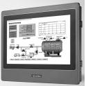 "Operátorský panel WebOP-2100T 10.1"" WSVGA  (1024x600 ) s WebOP programovým balíkom 64MB (SDRAM), 8MB (NOR)+128MB (NAND), 3xCom, Ethernet, USB, MicroSD"