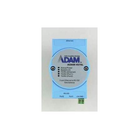 Sériový server ADAM-4570L-DE 2xRS232 RJ48 1xLAN