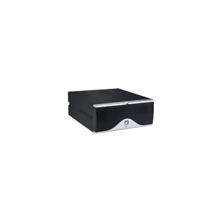 Skrinka na stôl pre MicroATX  AIMB-C600 s 300W zdroj, čierna