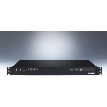 Bezventilátorový 1U počítač IPC-100-60SE Atom N450 1.66 GHz, VGA, 2xGLAN, 3xCOM, 8xUSB, 0 až 40°C