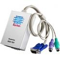 KVM prepínač cez IP DKX2-101,1xKVM port PS2/USB/VGA kábel AC/DC adaptér 1 vzdialený používateľ, 1 lokálny  používateľ
