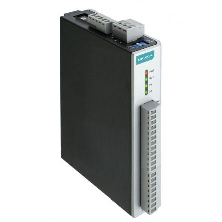 I/O server ioLogik E1241-T 4xAO 0-10V 4-20mA 12bit, Modbus/TCP, LAN bypass, aktívny OPC server, 12 až 36 VDC, -40 až 75°C