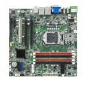 Priemyselná základná doska AIMB-502QG2 socket LGA 1155 inteQ77, VGA,DVI,HDMI, 6xCOM,2xGLAN 1xPCIe x16,x1; PCI, 4xUSB 3.0,eSATA, svorkovnica