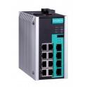 Switch EDS-G512E-8PoE-4GSFP 8x10/100/1000Tx RJ45 PoE/ PoE+, 4x100/1000 SFP, Turbo Ring, Turbo Chain, -10 až 60°C