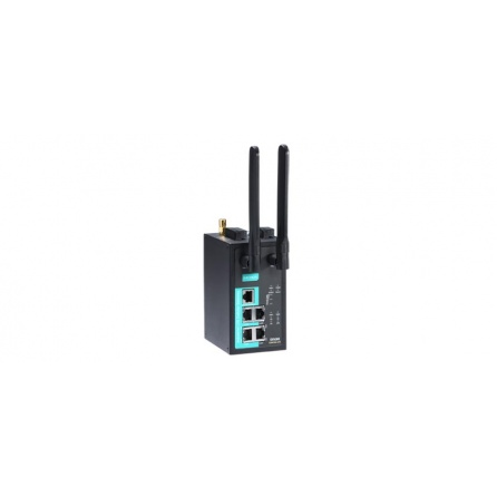 Priemyselný WiFi/HSPA router WDR-3124A-EU-T, 802.11 a/b/g/n 300Mbps 2.4/5GHz WiFi, GSM/GPRS/HSPA, dual-SIM, -30 až 70°C