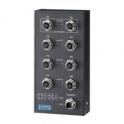 Switch EKI-6528TI 8xM12, nemanažovateľný, IP67 -40~ 75° C
