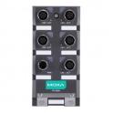 Switch TN-5305-T, 5x10/100Tx M12, nemanažovateľný, IP67, EN50155, 12 až 45VDC, 18 až 30VAC, -40 až 75°C