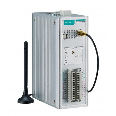 I/O server ioLogik 2542-HSPA 4xAI, 12xDIO, Modbus/TCP, 4xLAN RJ45, 9 až 48 VDC, slot na micro SD, -10 až 60°C