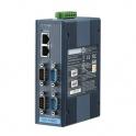 Sériový server EKI-1524CI, 4xRS232/422/485, DB9 2xLAN  izolácia, prac. teploty -40 až 70°C