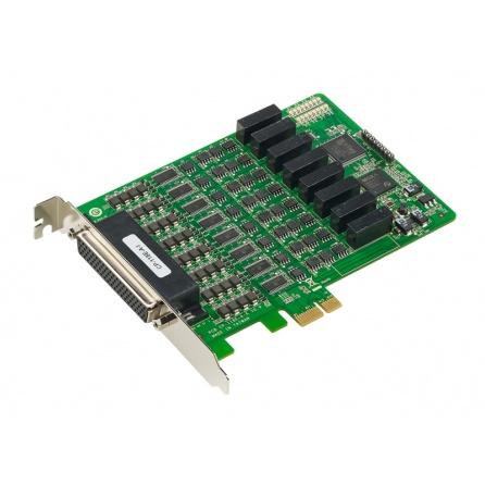 Komunikačná karta CP-118E-A-I, PCI-Express, 8xRS232/422/485, 4kV prepäť. ochrana, 2kV izol bez kábla
