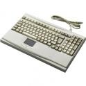 Klávesnica Advantech IPC-KB-6307 PS/2, 105 kláves ENG, Touchpad, na stôl