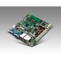 Priemyselná základná doska Mini-ITX AIMB-214U-S6A2E Intel Atom N2600 1,6GHz pasívne chl.  2xCOM 4xUSB 2xGLAN VGA HDMI CFast PCI mSATA
