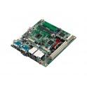 Priemyselná základná doska Mini-ITX AIMB-214E-S6A2E Intel Atom D2550 1,86GHz aktívne chl.  2xCOM 4xUSB 2xGLAN VGA HDMI CFast PCI mSATA
