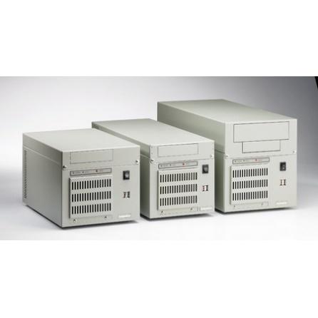 Skrinka na stenu a na stôl IPC-6806-25DE, 250W zdroj,  sivá