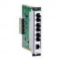 Modul CM-600-3MST/1TX pre system EDS-600, 3x100Fx multimode ST, 1x10/100Tx RJ45