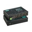 Sériový server NPort 5650-8-DT, 8xRS232/422/485 DB9M, 2xLAN (1 IP) RJ45, 12-48Vdc