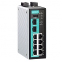 Priemyselný router/ firewall EDR-810-2GSFP, 2x 1000 SFP, 8x 10/100Tx, 1xWAN, NAT, kontrola Modbus TCP paketov, DI, relé, 2x napájanie 12/24/48 VDC, -10 až 60°C