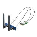 Príslušenstvo k UNO iDOOR PCM-24S2WF-BE WiFi 802.11 a/b/g/n/ac 2T2R  BT4.1, Atheros