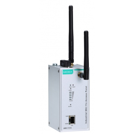 Priemyselný WiFi AP/ client AWK-1131A-EU, IP30, 802.11 a/b/g/n, GLAN RJ45, 0 až 60°C