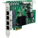 Sieťová karta PCIE-1674E-AE PCIe x4 4xRJ45 10/100/1000BaseTx PoE 802.3af