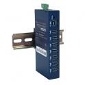 Priemyselný USB 3.0 hub BB-USH207 7xUSB 3.0, 8kV ESD, kábel USB 3.0 2m, 0~40°C