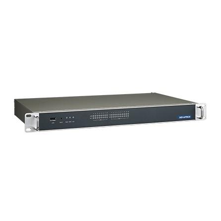 "Bezventilátorové 1U IPC ECU-4574-A53SAE Atom N2600 1.6GHz DC 2GB RAM CFast slot 2.5"" slot  VGA, 2xGbE, 10xCOM, 6xFE, 4xUSB, -25~70°C, norma IEC 61850-3, jeden zdroj"