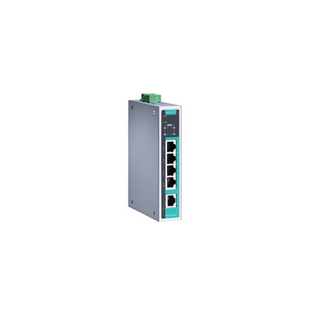 Switch EDS-G205A-4PoE-T, 5x10/100/1000Tx RJ45 z toho 4 s podporou PoE, -40 až 75°C