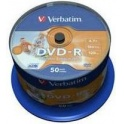 Médium Verbatim DVD-R 4,7GB 16x, Cakebox 50ks Printable