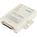 Sériový server DE-211, 1xRS232/422/485 DB25F, 1xLAN, s nap. adaptérom