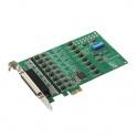 Komunikačná karta PCIE-1622B-BE PCIe x1, 8x RS-232/422/485, 1xDB62F  15kV ESD, prepäťova ochraná 1kV