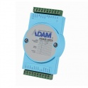 I/O modul ADAM-4024-B1E, 4DI, 4AO mA/V 12bit, izol., ADAM ASCII/Modbus RTU Watchdog, COM, 10~30VDC, -10~70°C
