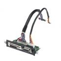 iDoor modul MOS-3340Y-1201E LCD Display port, DB9 Backlight, 26 Pin D SUB LVDS