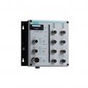 Switch TN-5508A-WV-CT-T 8x10/100Tx M12,  manažovateľný, IP54, 24-110VDC dual nap. vstup,  -40 až 75°C, pre železničné aplikácie EN 50155, EN 50121