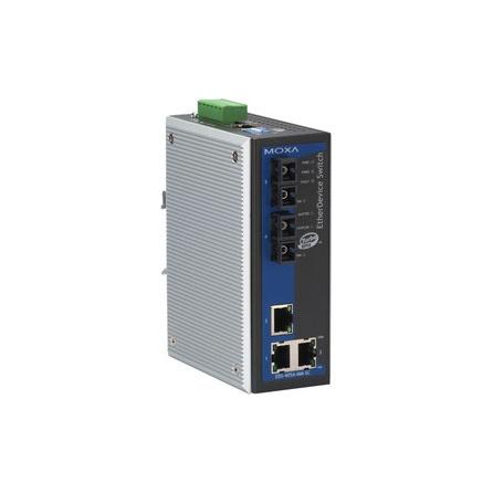 Switch EDS-405A-MM-SC-T 3x10/100BaseTx a 2xmultimode 100Fx SC základný manažment Turbo   Ring VLAN -40 až +75°C