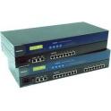 Terminálový server CN2650I-16 16xRS232/422/485 DB9 2xLAN izolovaný 230Vac