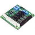 Komunikačná karta CA-134I PC/104 4xRS422/485 15kV ESD, 2kV izolácia -40až+85°C