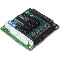 Komunikačná karta CB-134I PC/104-plus 4xRS422/485 15kV ESD, 2kV izolácia