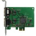 Komunikačná karta CP-102E PCIe 2xRS232 15kV ESD
