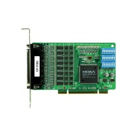 Komunikačná karta CP-118U PCI/PCI-X 8xRS232/422/485 DB62* 15kV ESD